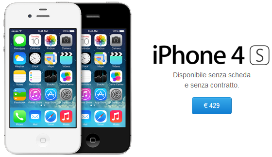iphone 4 nuovo euronics